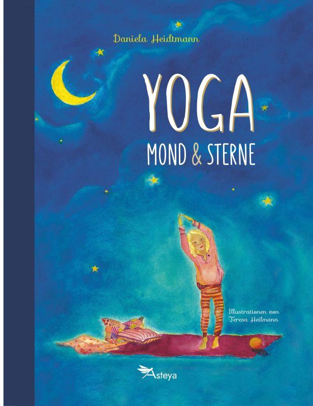 Yoga, Mond und Sterne Cover