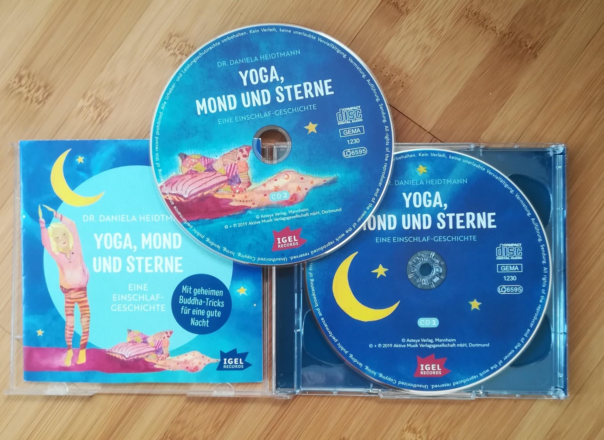 CD Yoga, Mond und Sterne